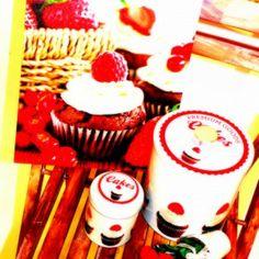 cakes rojo