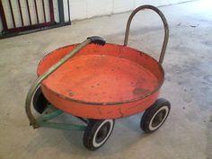Vintage 1960's Moon Wagon Orange RARE