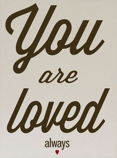 Cream & Brown 'You Are Loved Always' Wall Sign