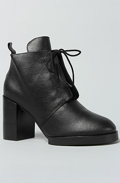 Cheap Monday The Layer Lace Boot in Black