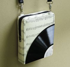 Small crossbody bag using vinyl record - Free standard shipping - Upcycling  by Milo 01c87a304b999