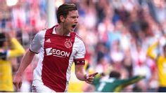 Jan Vertonghen of Ajax. captain...
