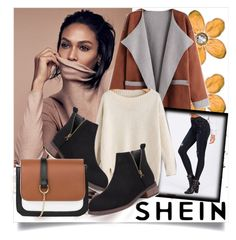 """SHEIN II/9"" by betty-boop23 ❤ liked on Polyvore featuring B. Ella, Sheinside and shein"