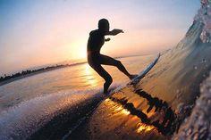 Dawn Patrol aprovechando el día #surf