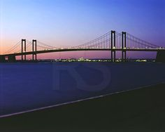 The Delaware Memorial Bridge   Have drove on this bridge many many times.