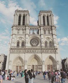 #notredame #notredamedeparis #viajes #paris  #Francia owntripblog.com/paris