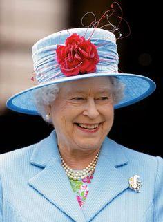 Queen Elizabeth, May 20, 2010 in Rachel Trevor Morgan