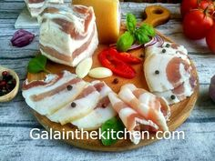Russian Lard In Brine - Salo Recipe - Gala in the kitchen