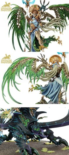 Alarielle the Everqueen gold quality details