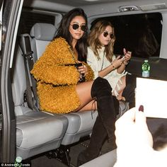 Pretty little co-stars: Ashley Benson and Shay Mitchellarrived at the Malpensa Airport in...