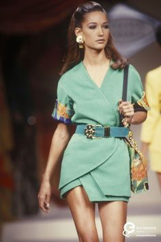 Marpessa - Gianni Versace, Spring-Summer 1991, Couture