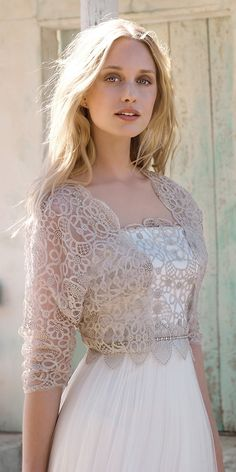 ~ Jill: Rembo Styling bridal gowns and wedding dresses #rembostyling #bohemian #bohochic #wedding #dress #newcollection