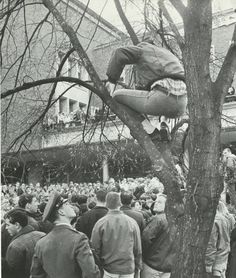 Student protest on campus over the Vietnam War 1965. From the 1965 Oregana (University of Oregon yearbook). www.CampusAttic.com