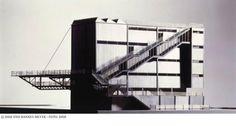 HANNES MEYER. Proyecto para Petersshule. Basilea. 1926