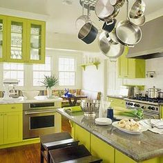 Chartreuse_kitchen_betterhomes