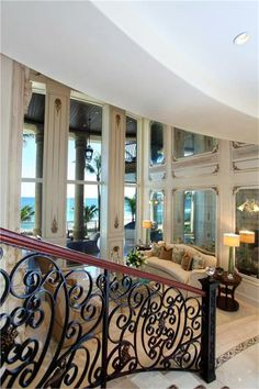 beachfront luxury beach homesluxury homes interiorhandrail