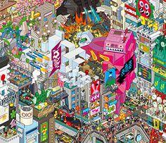 eboy tokyo poster