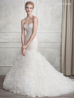Kenneth Winston: Couture Style 1689 #weddingdress #bridal
