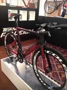 New Aura Time Trial bike