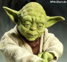 Star Wars: Yoda - Jedi Mentor, PVC Figur ... http://spaceart.de ...