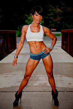 Ebony Female Fitness & Sports