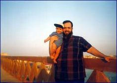 Hazem with son