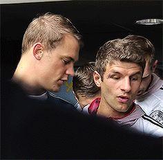 Manu and Thomas Muller