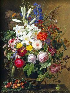 (JOHAN LAURENTZ JENSEN) - Danish painter (1800-1856) ...