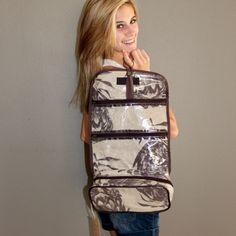 Thandana - Rolldown Toiletry Bag - Protea Mudhut  - #poshprezzi Toiletry Bag, Gifts For Women, Backpacks, Bags, Fashion, Handbags, Moda, Cosmetic Bag, Fashion Styles