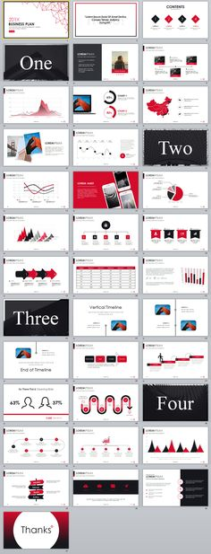2in1+ Simple business plan PowerPoint Template Simple business - best of blueprint background slideshow