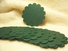 Items similar to Round Scallop Piece Set of Heritage Pine Green Round Scallop Scrapbook Tags on Etsy Handmade Tags, My Etsy Shop, Scrapbook, Unique Jewelry, Scrapbooking, Costume Jewelry, Guest Books, Scrapbooks
