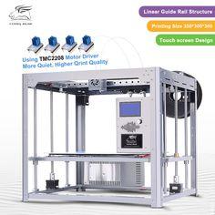 2017 New Upgraded Flyingbear Tornado 3d Printer Larger Printing area Full metal Dual extruder Diy3D Printer