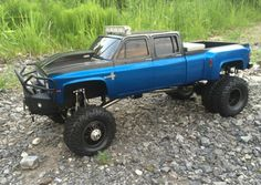 1/10 RC Crawler • Chevy Silverado crew cab Body