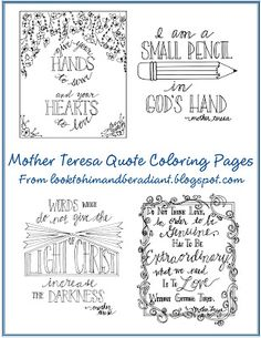 Look to Him and be Radiant: Resources for Teaching about St. Teresa of Calcutta