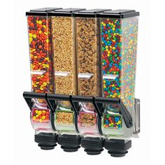Server 88780 Dry Product Dispenser, Quadruple, 2 Liter, Wall Mount Mutfak – home accessories Home Cinema Room, At Home Movie Theater, Home Theater Rooms, Cool Kitchen Gadgets, Kitchen Items, Cool Kitchens, Kitchen Decor, Cereal Dispenser, Candy Dispenser