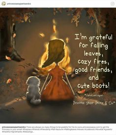 I'm grateful for falling leaves, cozy fires, good friends. Sassy Quotes, Cute Quotes, Fall Quotes, Deep Quotes, Im Grateful, Grateful Quotes, Thankful, Sassy Pants, Happy Fall Y'all