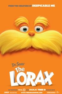 Dr. Seuss' The Lorax opens in 2D, 3D and IMAX 3D on March 2, 2012