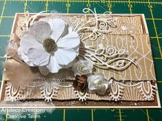 Couture Creations card by Collette Mitrega