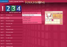 Touchstone Arcade: Level 1 Menu by Cambridge University Press