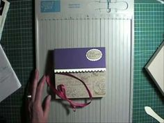 Envelope Gift Box for bulky 3-D cards. Could use to hold a set of greeting cards - YouTube