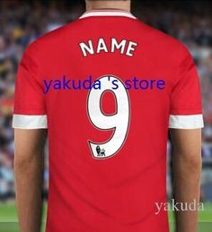 Customized Soccer Jerseys Thai Quality ,Select 2015 16 Home Away 3rd Away Jersey To Create Your Own Football Jerseys Soccer Jersey From Yakuda, $14.64 | Dhgate.Com