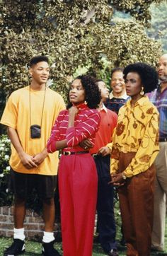 Will Smith, Charlayne Woddard and Janet Hubert  on The Fresh Prince of Bel Air