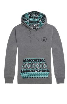 Volcom comes with a stylish men's hoodie found at PacSun. TheRampart Pullover Fleece Hoodie for men has a heather gray body, multi color print front pocket pouch, and Volcom logo on the chestMulti colorhoodie with Volcomlogo on chestMatching hood and drawstringsFront pocket pouchFleece liningLong sleevesMachine washable60% cotton, 40% polyesterImported