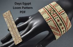Beading Pattern Loom Pattern Tutorial Days of by BeadingPattern