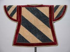 Bourgogne (Tabard of the Burgundian Herald for the Dukedome of Burgundy) -- Wappenrock für den Wappenkönig-Herold des Herzogtums Burgund, 17. Jahrhundert (1794 Reparatur)