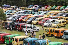 天候にも恵まれ、公式発表で実に640台前後のカングー(等のルノー車)が集合した![「ルノーカングージャンボリー2012」会場] | 画像2 | 「ルノーカングージャンボリー2012」600台を超えるカングーたちが富士のふもとに大集合!