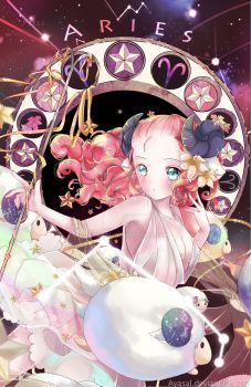 Aries [Zodiacal Constellations] by Ayasal