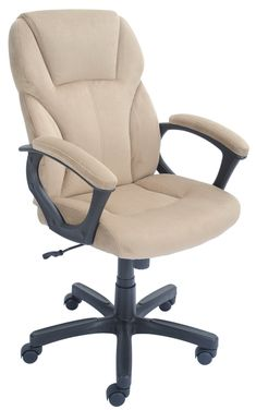 Sky Blue Ergonomic Fabric Task Office Chairs with Adjustable Arms