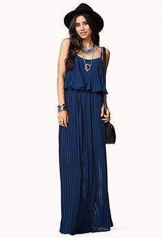Layered Maxi Dress | LOVE21 - 2005758340