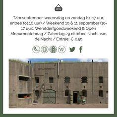 """""""Twee forten waren er vroeg bij vandaag: #FortbijAbcoude en #FortbijSpijkerboor #Werelderfgoedweekend #Stampions #app"""""""